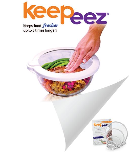 Keepeez Vacuum Seal Lids
