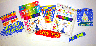 Colorcadabra Color-Changing & Color-Erasing Pens