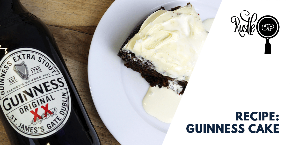 St Paddy's Guinness Cake
