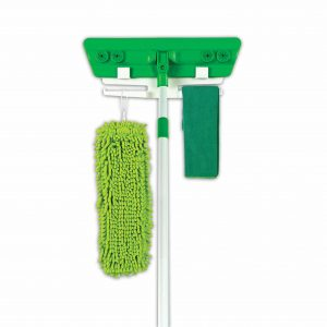 Quick Clean n Green Microfiber Mop and Cloth Set