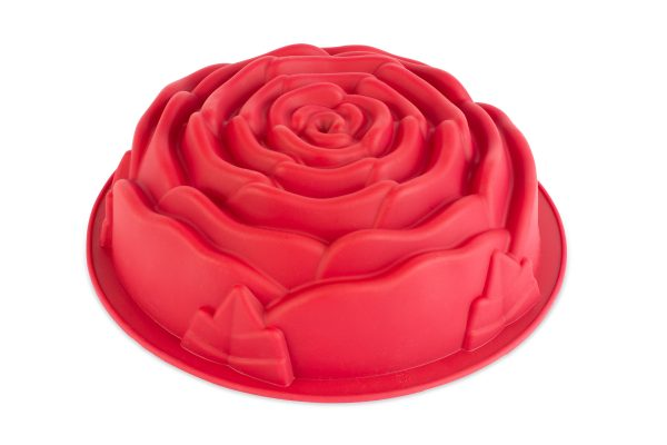 unique silicone rose mold