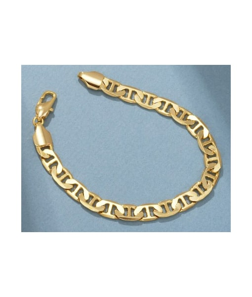 San Tropez Contemporary Fashion Jewelry Collection Bracelet- Yellow Gold