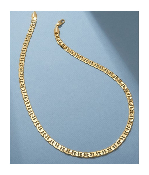 San Tropez Contemporary Fashion Jewelry Collection Necklace- Yellow Gold